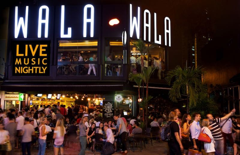 Famous Wala Wala Cafe Bar at Holland Village, Via: whiskygeeks.com