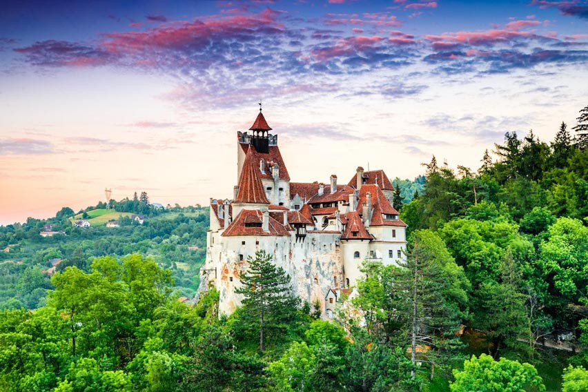 Bran-Castle in Romania