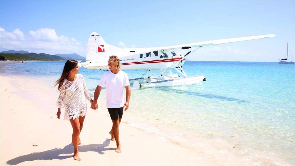 Romantic Flight Whitsunday