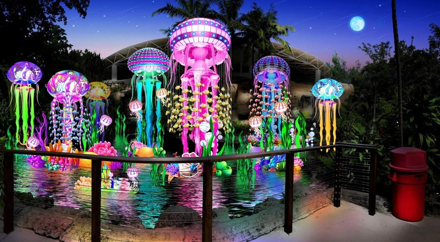Festival of Lights at Jungle Island