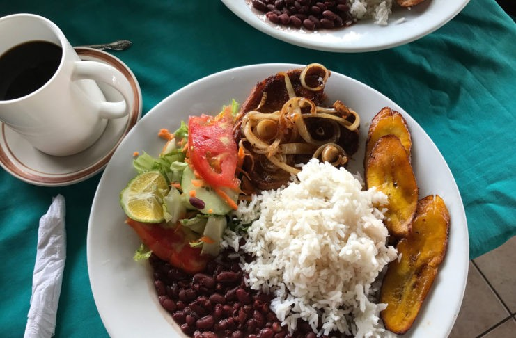 Traditional Costa Rican Food,