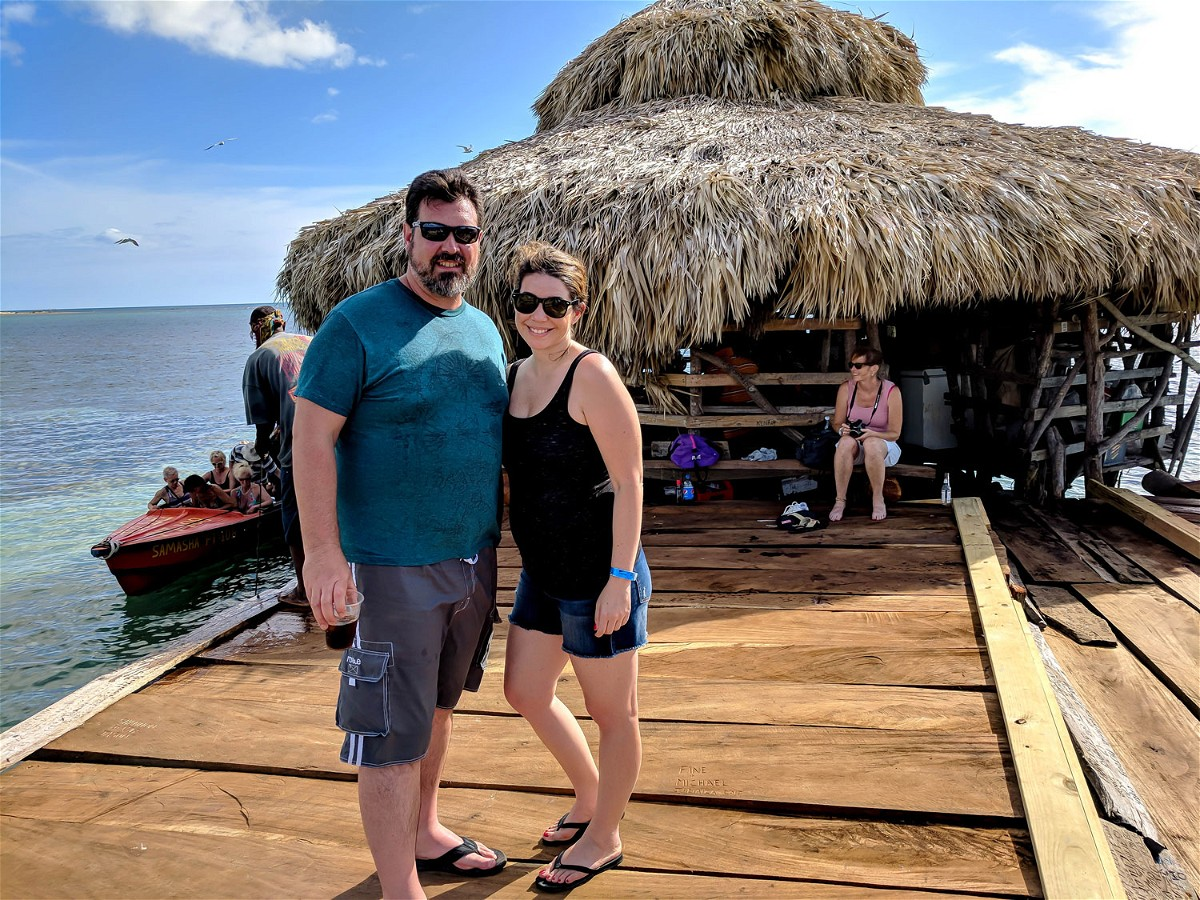 Couple at Pelican Bar