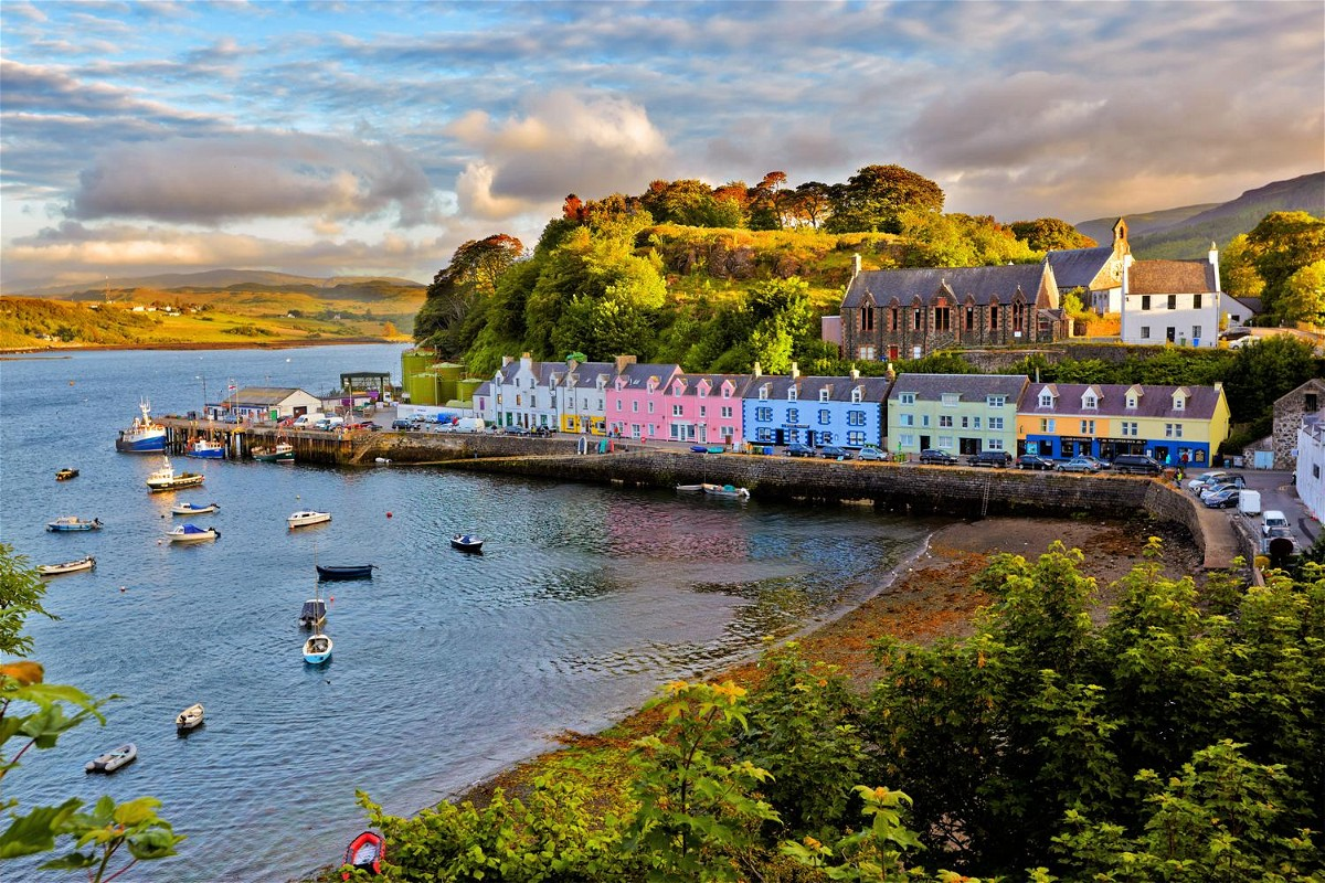 Colourful City of Portree
