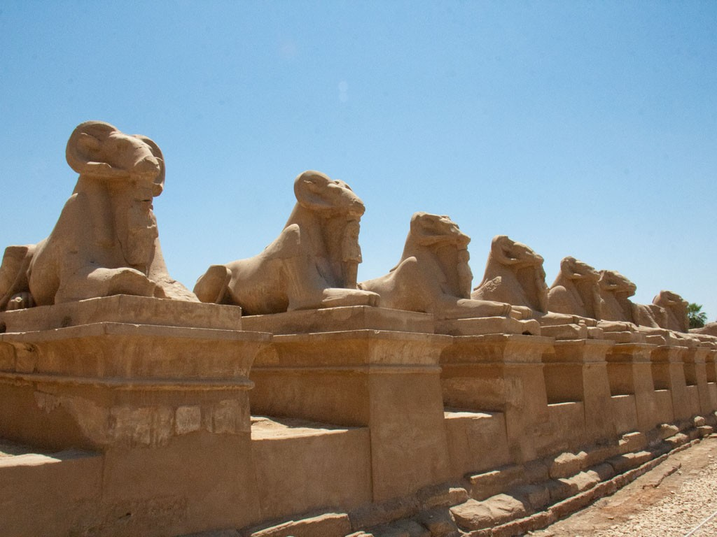 Avenue of the Sphinxes,