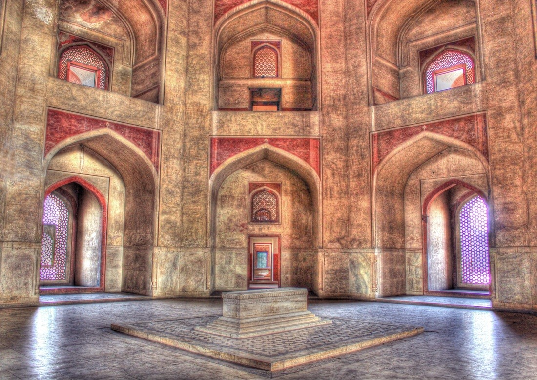 Inside Architecture of Humayun Tomb