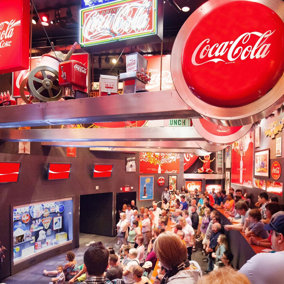 Discover the world of Coca-Cola