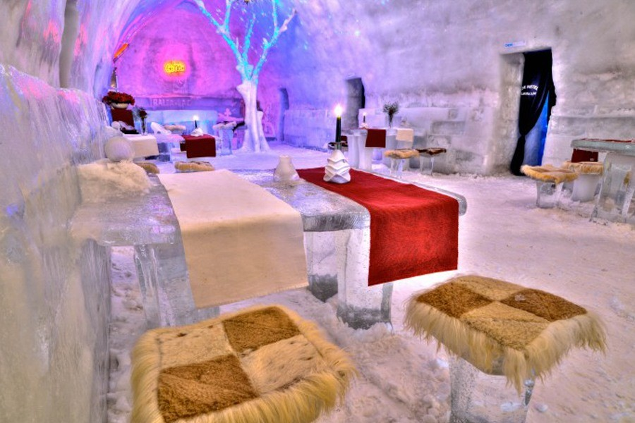 Ice Hotel of Romania